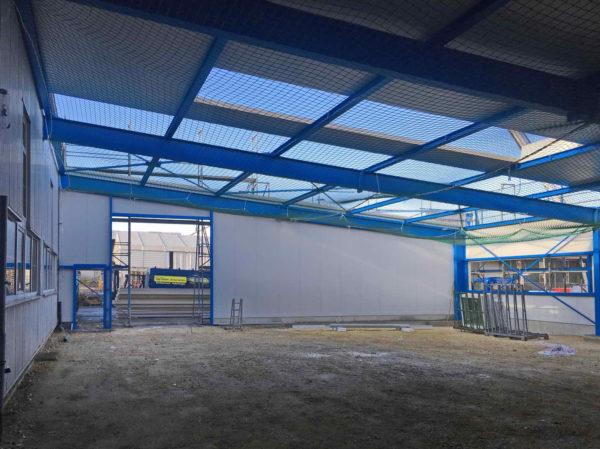 Fa. Zilian, Göppingen – Anbau Produktionshalle + Gebäudehülle