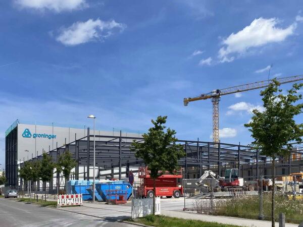 Fa. Groninger, Crailsheim – Neubau Hochregallager & Logistikhalle